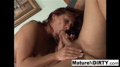 Naughty Dirty mature granny only wants hard cock in the ass! Thumb