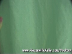 Housewife Kelly Sucks and Swallows and Loves It! Thumb
