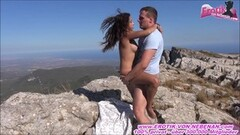 Steamy german skinny teens couple sharing outdoor orgy Thumb