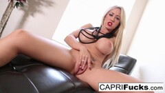 Happy Lesbian lust tribbing with Izzy Bell and Sofie Reyez Thumb