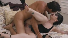 Naughty Blonde masturbating outdoor! Thumb