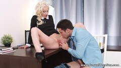 Aimee Black gets old cock in her pussy Thumb