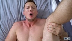 Kinky babe strips panties teases big tits retro nylon garters Thumb