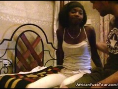 African Chick Dick Fucked And Cum Blasted Thumb