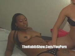 Ebony  Lesbo and Pawg p2 Thumb