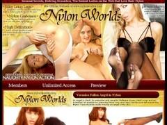 Pornstar in nylon spreading pussy Thumb