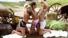Fantasy Frolic by Sapphic Erotica girl on girl action Thumb