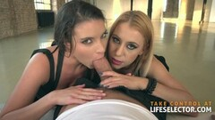 Brunette jail babe takes cock from a guard Thumb
