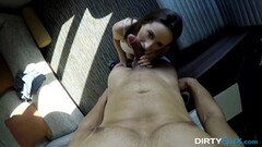 Busty Shyla Stylez takes on this hard dick Thumb