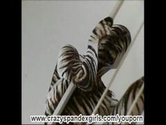 Flexible Sandy strips in spandex Thumb