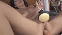 Lola Lynn Rides The Dildo Chair Then Sucks Off a Cock Thumb