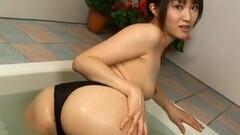 Japanese Model fondles herself Thumb