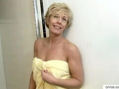 Shower Dildo Pleases Busty Anilos Chanel Thumb