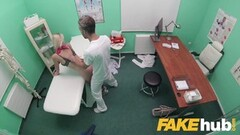 Fake Hospital Deepthroat and deep pussy lashing Thumb