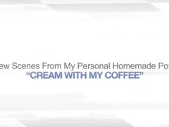 CREAM WITH MY COFFEE – MASTURBATING BLONDE WIFE Thumb