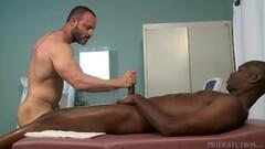 Hot Str8 Big Black Dick Visits His Dr Thumb