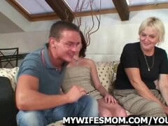 Mother in law seduces her daughter's husband Thumb