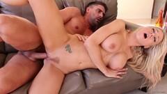 Hot blond big tits ANAL Thumb