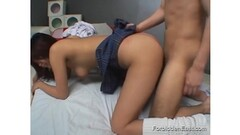 Amateur Bed wrestling with Tiffany Preston Thumb