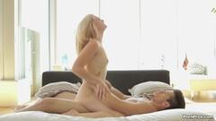 Helena Bush shaves her nasty hairy pussy Thumb