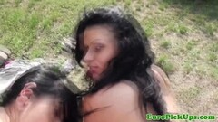 Slim brunette babe blowjobs and screwed at the pawnshop Thumb