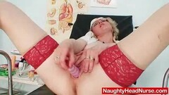 Busty Heather Summers Wanks Her Shaved Pussy Thumb