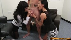 British milf Holly Kiss dildo fucks her hungry cunt Thumb