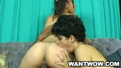 Charmy Asian Dildoing Her Ass And Pussy Thumb