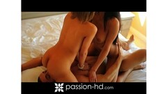 Sexy babe Naomi Alice ends up fucking in the office Thumb