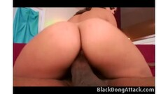 Foxy Ebony Takes A Hard Black Cock In Her Pussy Thumb