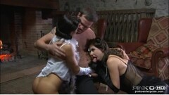 PMV - Drunk blonde teen wants to be impregnated by big dick. Thumb