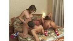 Hot masseuse takes a load of cum in her mouth Thumb