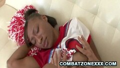 Swinger Wife Getting Fucked By Bearded Dude and Friend Thumb