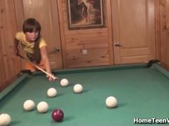 Russian Teen Fucking Thumb