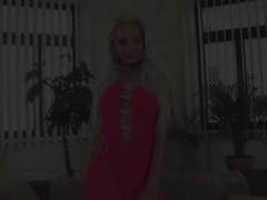 Skinny elegant blonde Veronica masturbates - CzechSuperStars Thumb