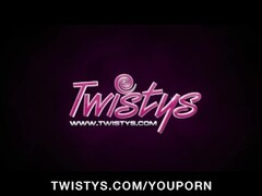 Busty brunette fucking inside the bar Thumb