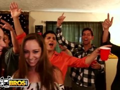 BANGBROS - Jada Stevens, Remy LaCroix & Dillion Harper On Dorm Invasion! Thumb