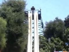 Teen Loses Her Top On The Waterslide Thumb