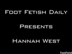 hannah west  footjob Thumb