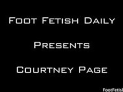 courtney page  footjob Thumb