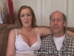 Wussy Hubby Shares Hot Wifey Thumb