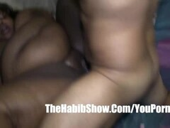 Curly Blonde Facialized by a BBC Thumb