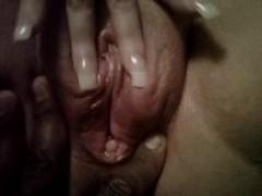Watch my BBW Snow Bunny Squirt Thumb