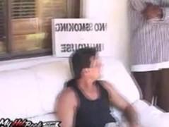 Trina Michaels takes on two cocks Thumb