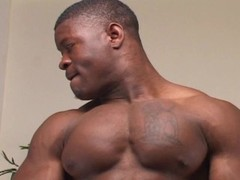 Str8 black hung muscle stud shoots load. Thumb