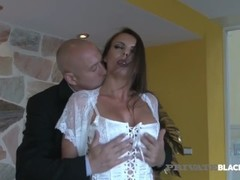 PrivateBlack - Politician's Wife Caroline Tosca Fucks 3 BBCs Thumb