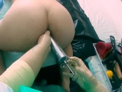 Frau Doktor dehnt den Arsch von Marcus Pollack POV Thumb