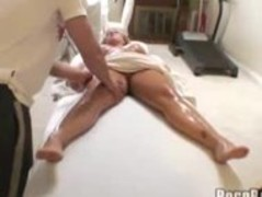 Busty blond penetrated during massage Thumb