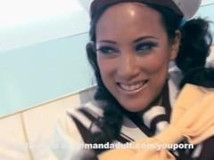 Cosplay - Tigerr in lesbian strap-on Thumb
