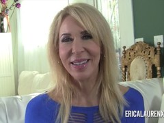 Pornstar MILF Erica Lauren has a thing for younger men Thumb